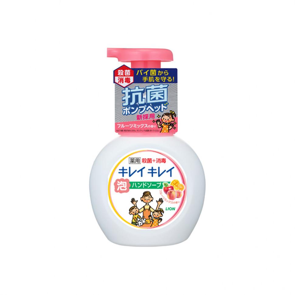 Lion Kirei Kirei Пенное мыло для рук с ароматом апельсина, 250 мл