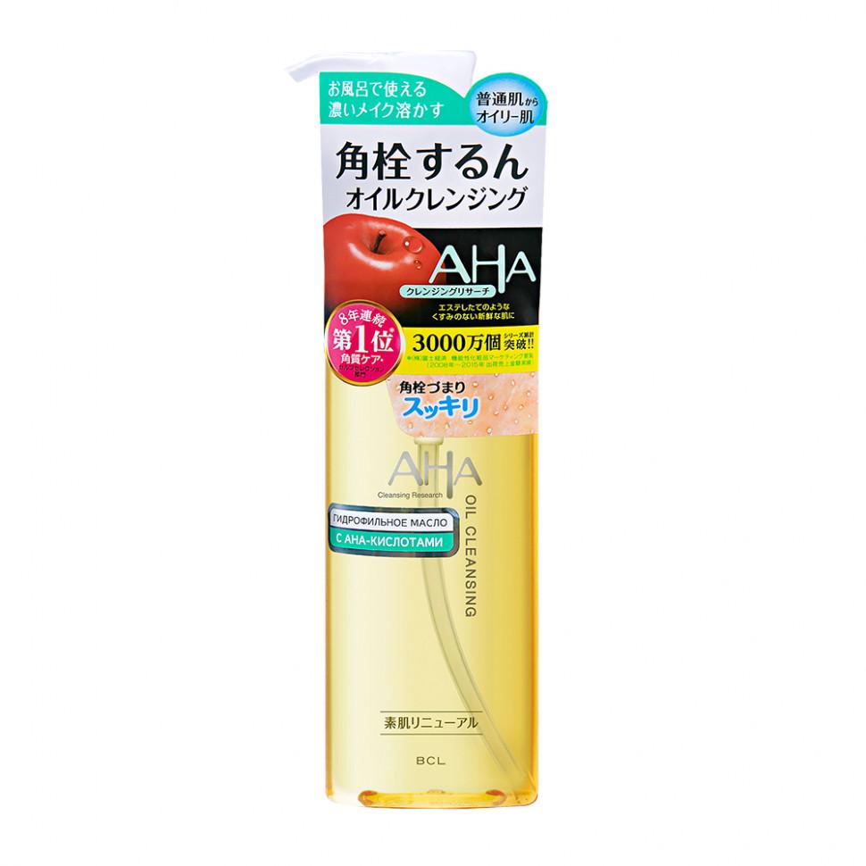 AHA Basic Гидрофильное масло для снятия макияжа с фруктовыми кислотами, 145 мл