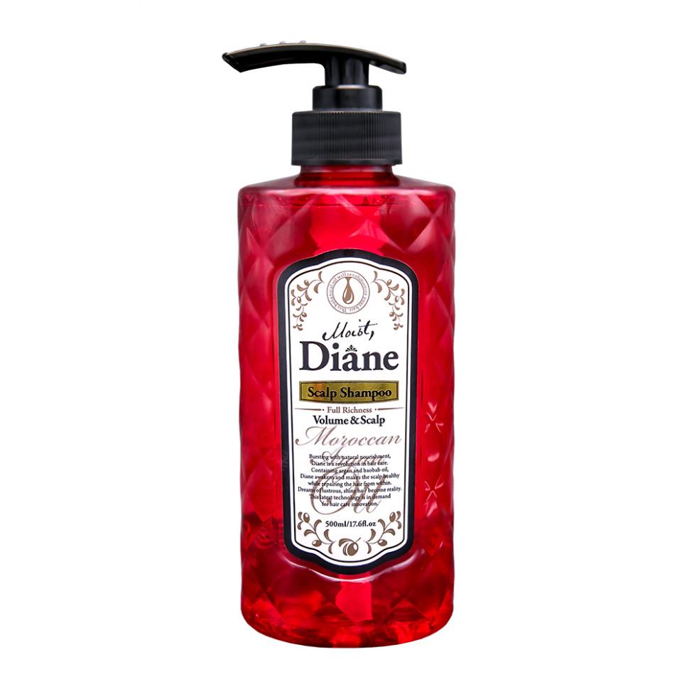 Moist Diane Scalp Шампунь бессиликоновый Объем и Уход за кожей головы, 500 мл