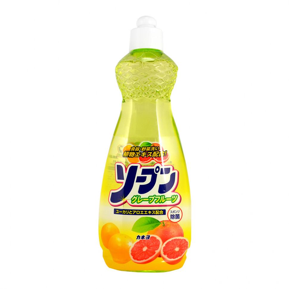 Kaneyo Жидкость для мытья посуды овощей и фруктов грейпфрут, 600 мл