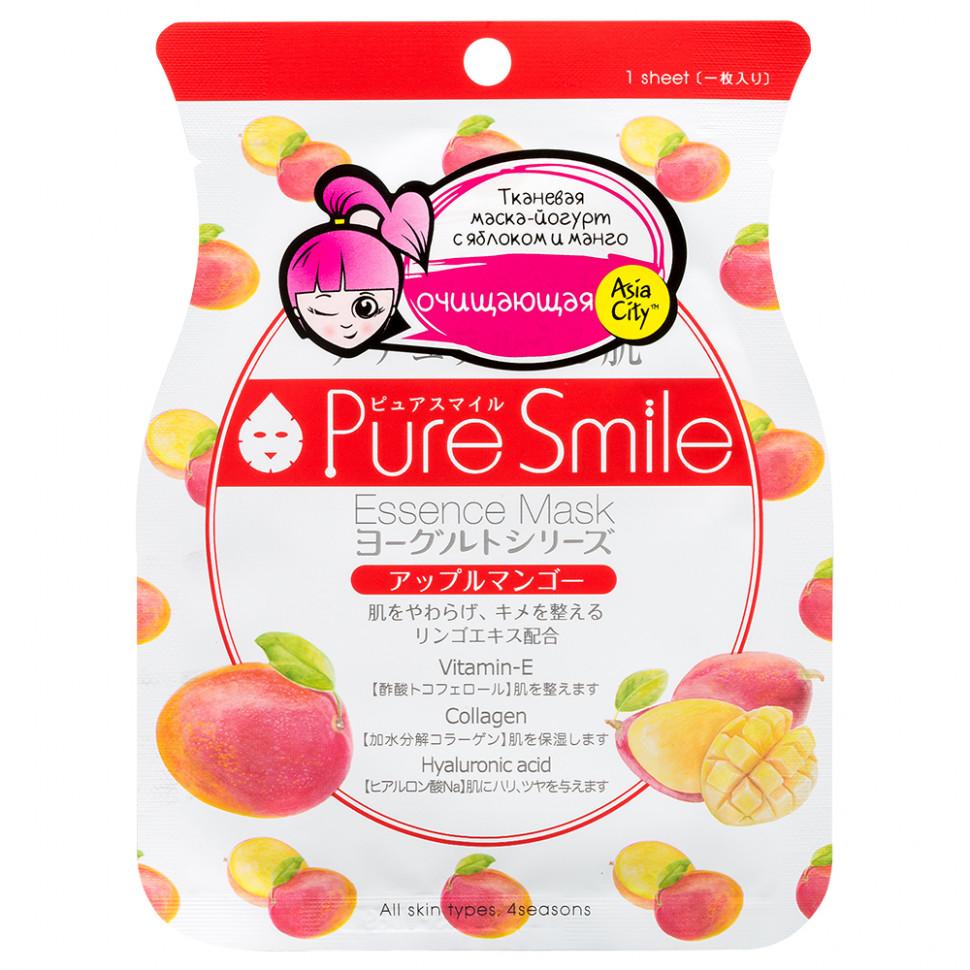 SunSmile Yougurt Маска для лица на йогуртовой основе с яблоком и манго, 1 шт фото