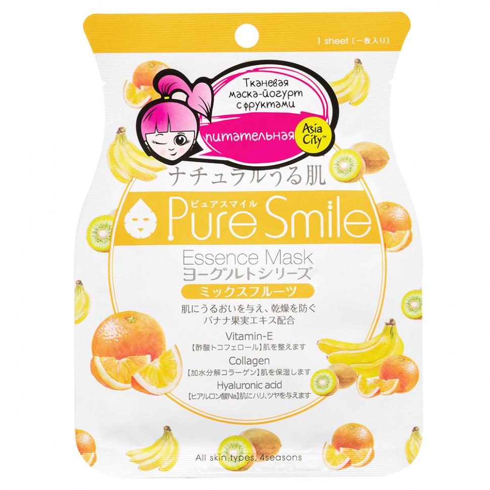 SunSmile  Yougurt Маска для лица на йогуртовой основе с фруктами, 1 шт