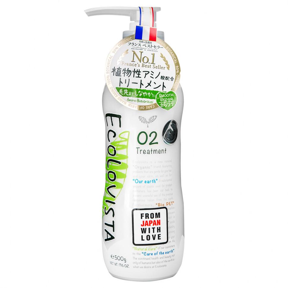Ecolovista Smooth Repair Бальзам-кондиционер для волос Восстановление, 500 мл фото