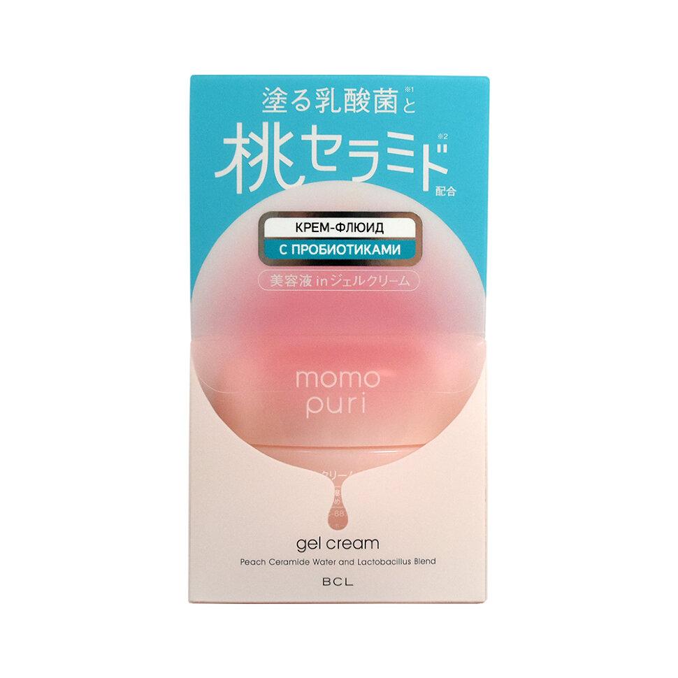 Momo Puri Крем-флюид с лактобактериями, витаминами А,C,E и керамидами Увлажнение и Упругость фото