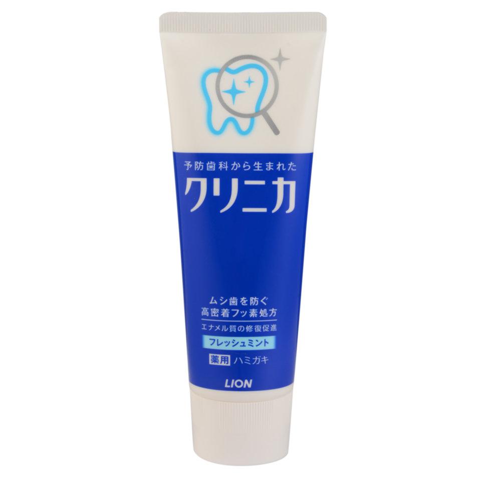 Lion Clinica Mild Mint Паста зубная для защиты от кариеса с ароматом мягкой мяты, 130 гр