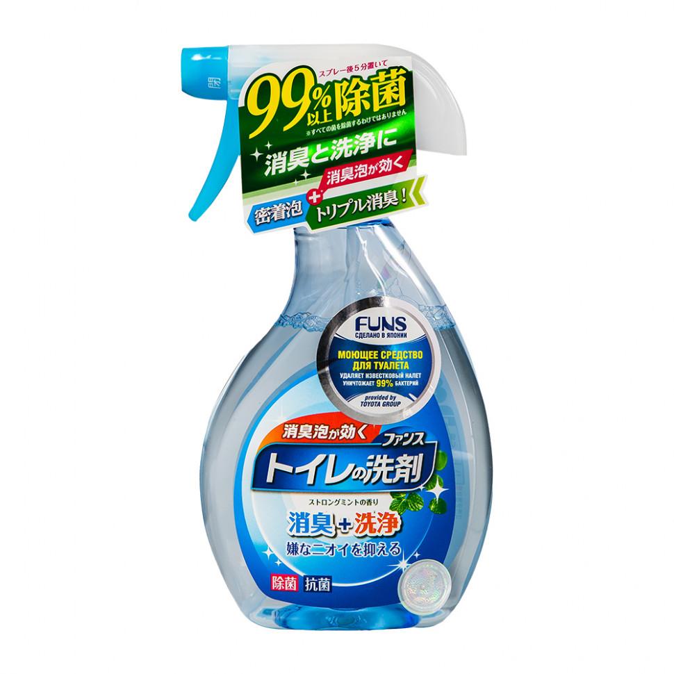 Funs Средство моющее для туалета с ароматом мяты, 380 мл