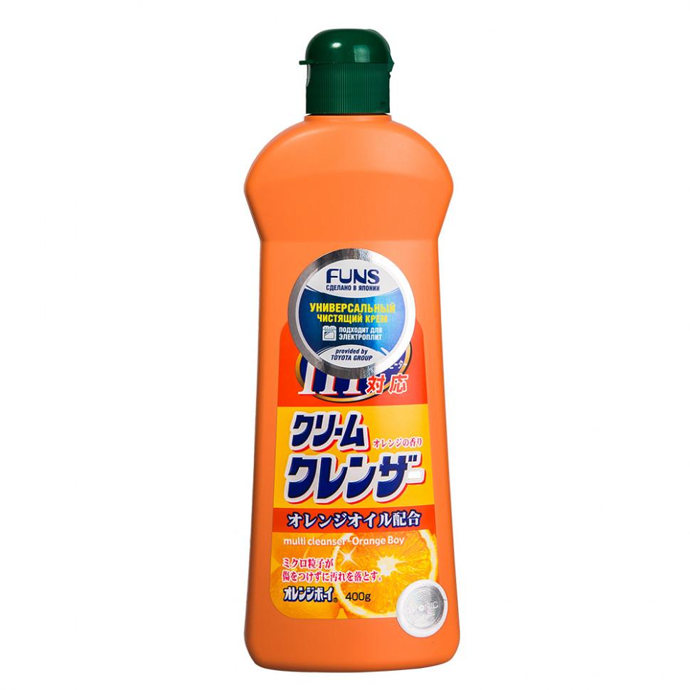 Funs Orange Boy Крем чистящий универсальный с ароматом апельсина, 400 мл