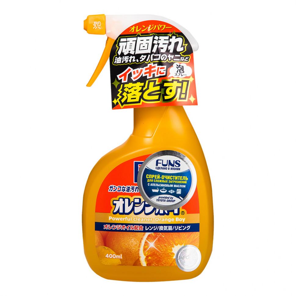 Funs Orange Boy Очиститель сверхмощный для дома с ароматом апельсина, 400 мл фото
