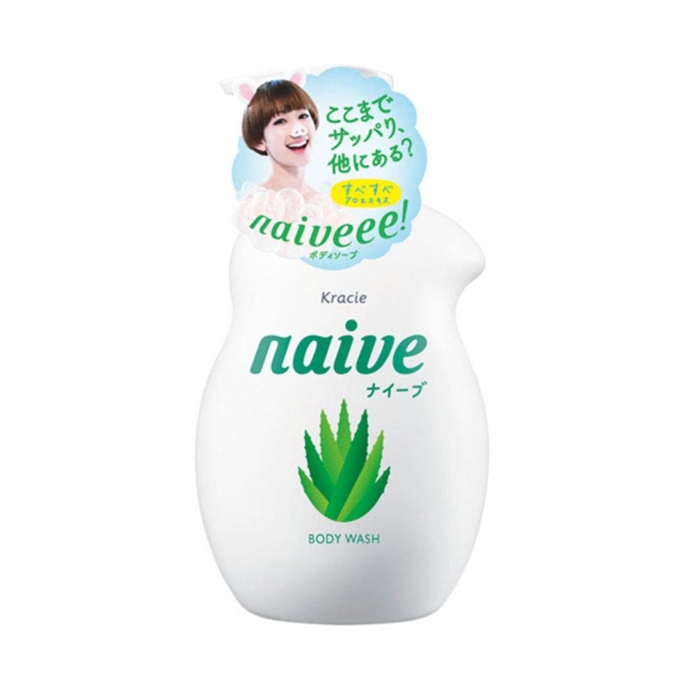 Kracie Naïve Мыло жидкое для тела с экстрактом алоэ, 530 мл