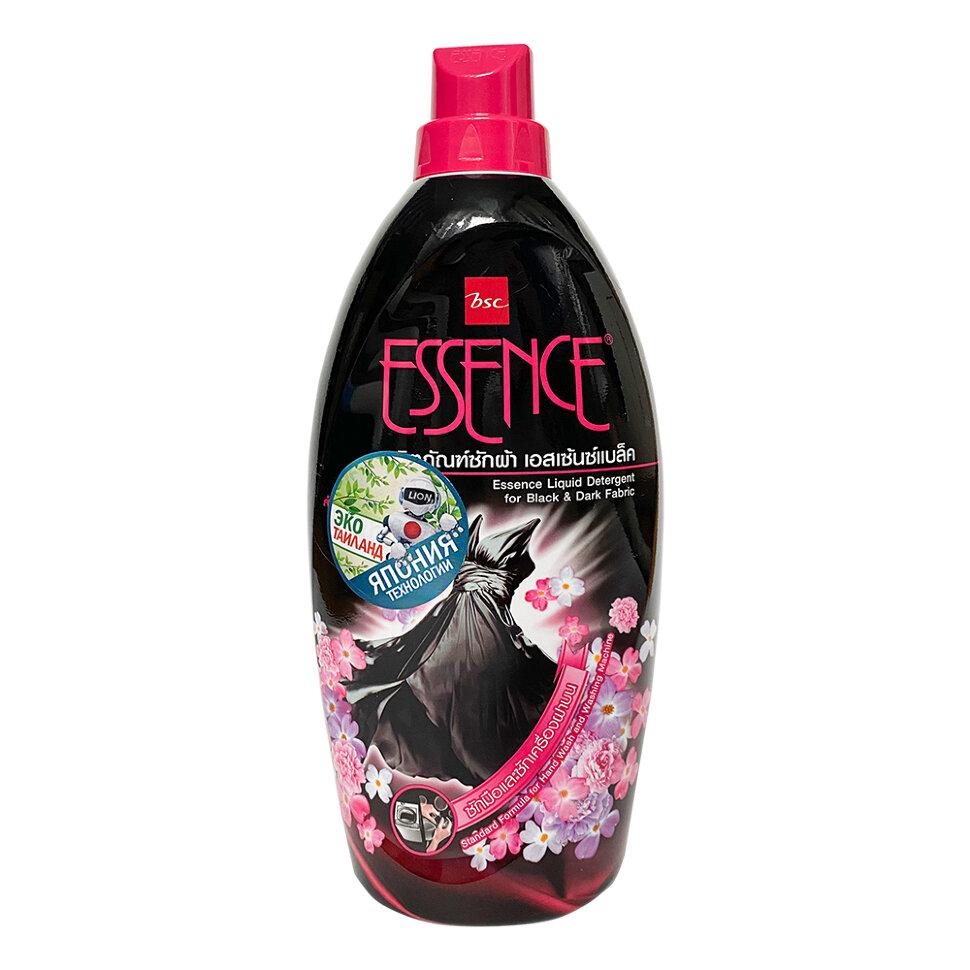 Купить Lion Thailand Essence Средство моющее жидкое для темного и черного белья с цветочным ароматом, 960 мл