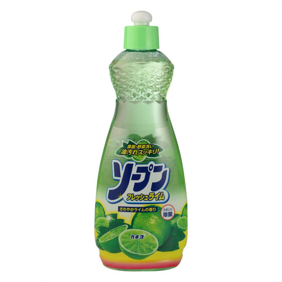 Купить Kaneyo Свежий лайм Жидкость для мытья посуды овощей и фруктов, 600 мл