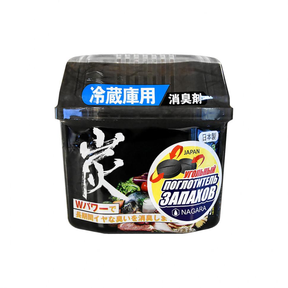 Nagara Древесный уголь для устранения запаха в холодильнике 160 гр.