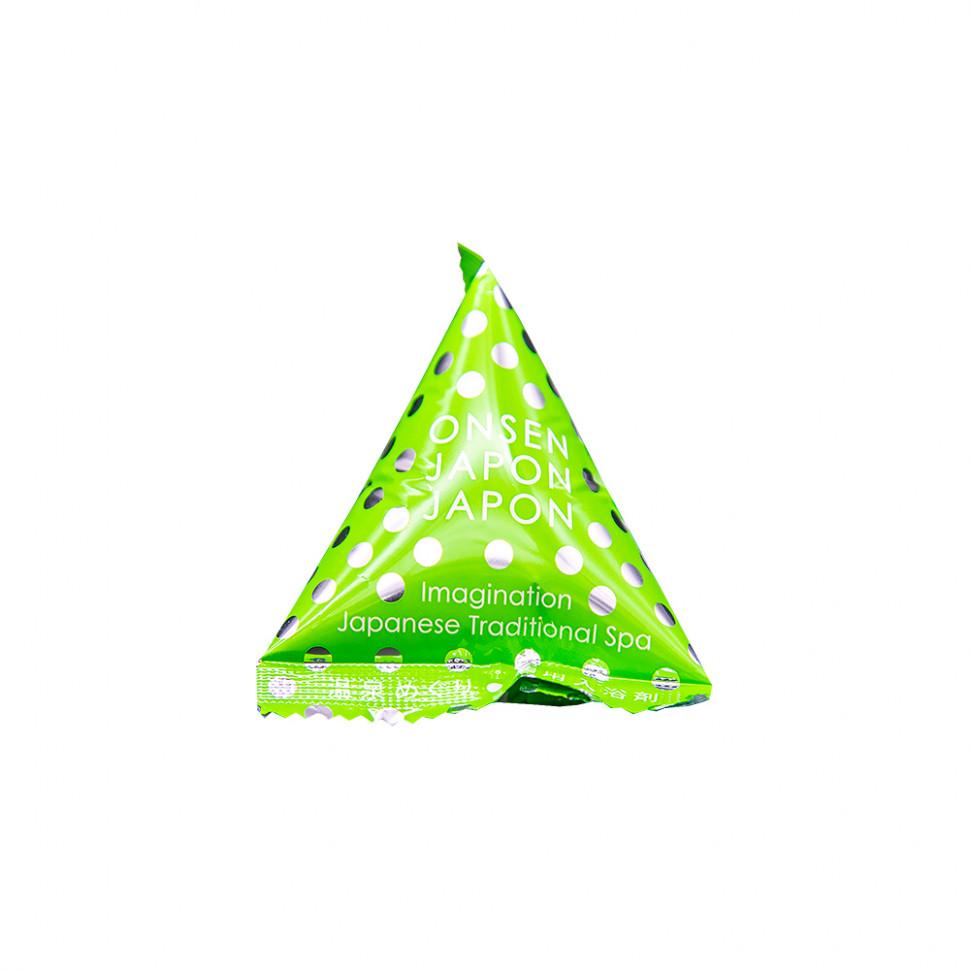 """Charley Onsen Соль для ванн расслабляющая """"Источник Яманака"""" с ароматом зеленого леса, 20 г"""