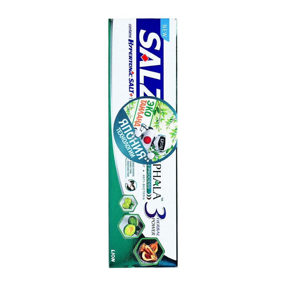 Lion Thailand Salz Herbal Паста зубная с гипертонической солью и трифалой, 90 г фото