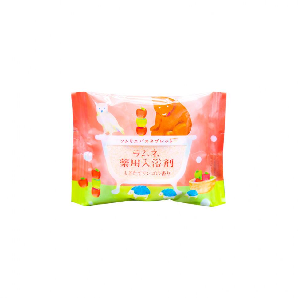 Charley Sommelier Соль-таблетка для ванн расслабляющая с ароматом свежих яблок, 40 г фото