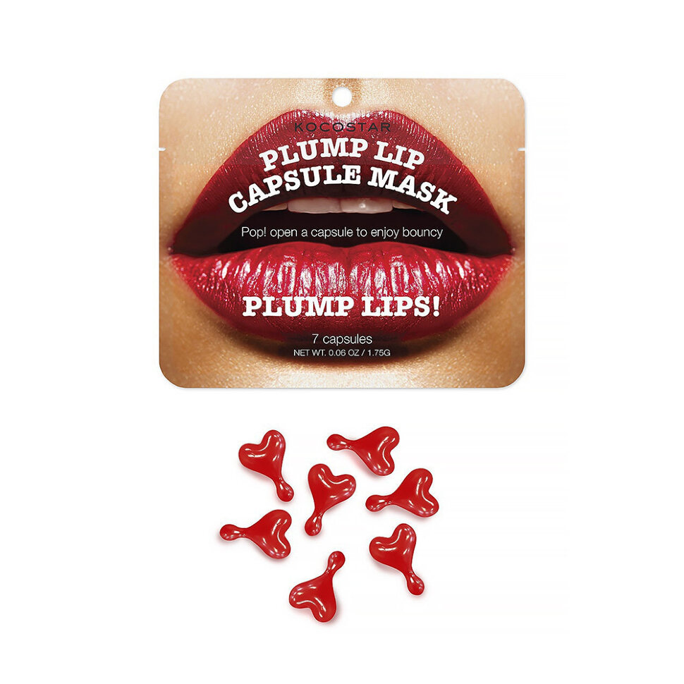 Купить Kocostar капсульная сыворотка для увеличения объема губ (7 капсул)