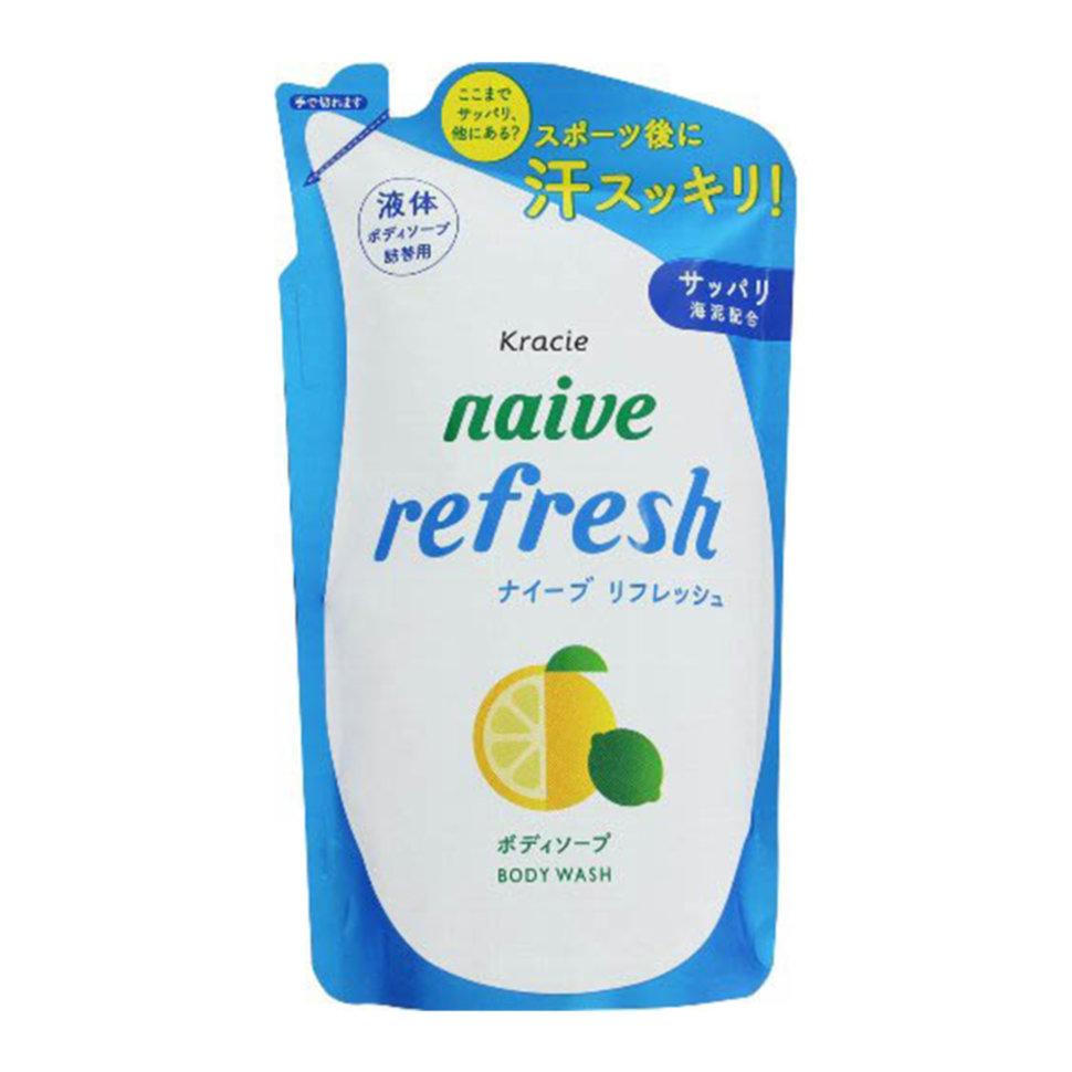 Kracie Naïve Мыло жидкое для тела с ароматом цитрусовых ЗБ, 380 мл