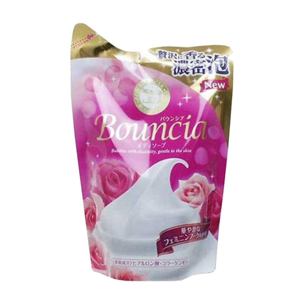 Cow Bouncia Milky Body Soap Мыло увлажняющее для тела со сливками коллагеном и ароматом цветов, 430 мл